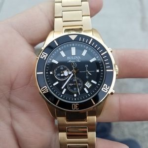 Great Condition Mens Bulova Chronograph Stainless